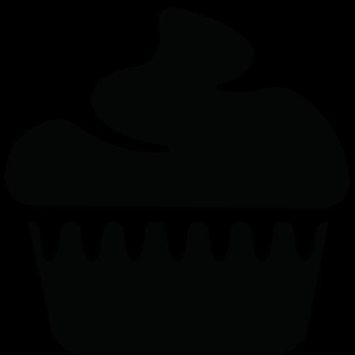 Download Brownie,cake,cupcake,retro Icon Inventicons