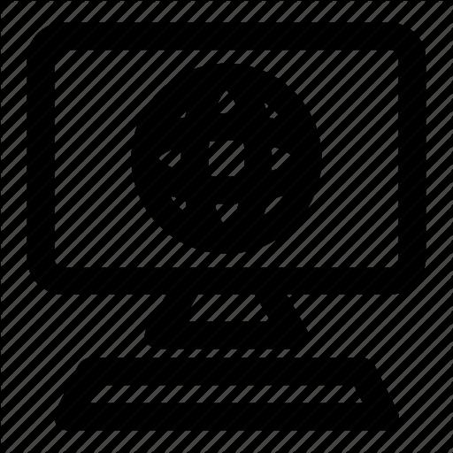 Browser, Connection, Desktop, Internet, Workstation Icon