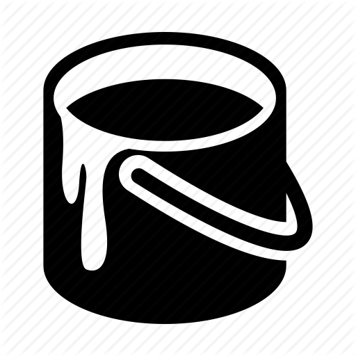 Color, Paint, Paint Bucket, Painting Icon
