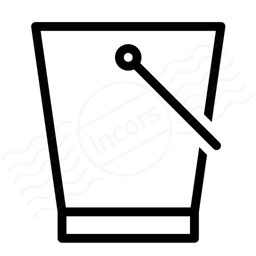 Iconexperience I Collection Bucket Icon