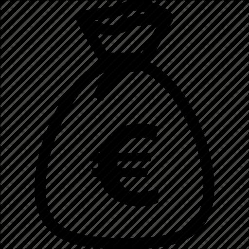 Bag, Bank, Budget, Business, Euro, Money Icon