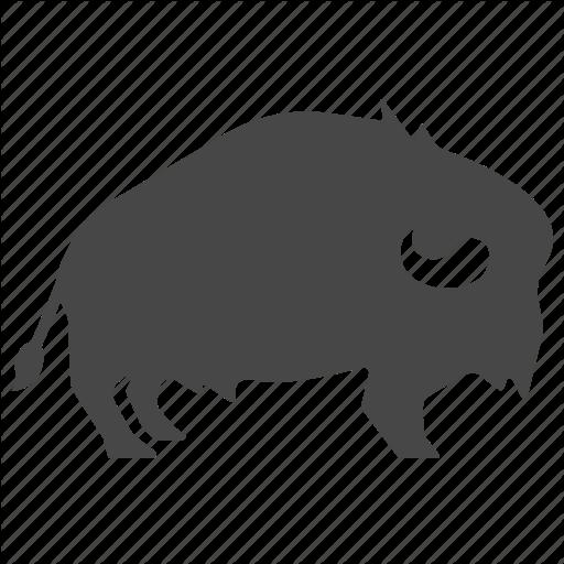 American, Animal, Bison, Buffalo, Indian, Native, Tribe Icon