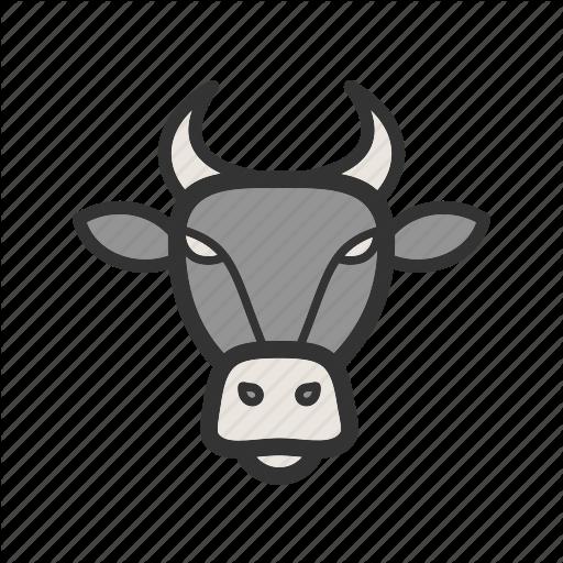 Animal, Animals, Buffalo, Face, Grass, Park, Strong Icon