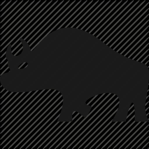 Animal, Bizon, Buffalo, Bull, Wild Icon