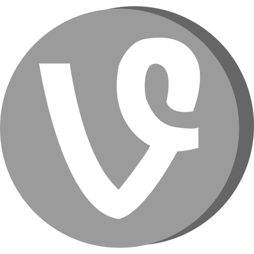 Connection, Media, Network, Social, Video, Vine Icon