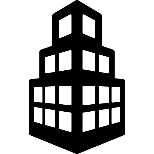 Stepped Building Icons Free Download
