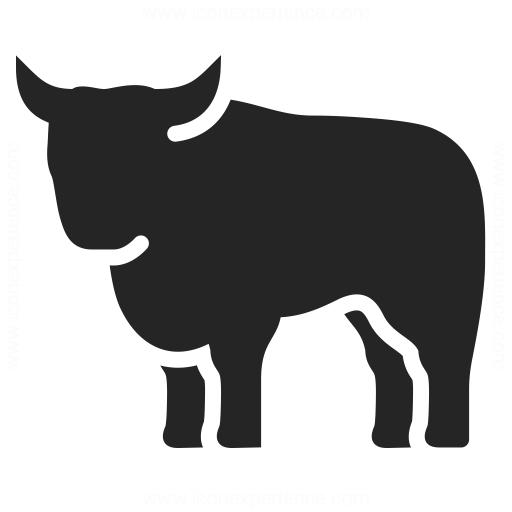 Bull Icon Iconexperience