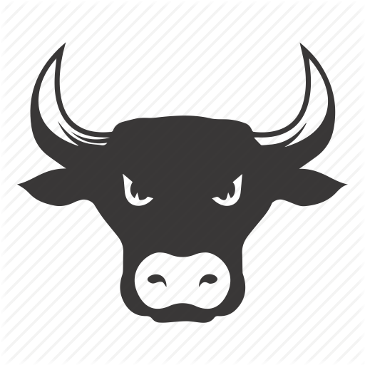 Bull, Bull Market, Stock Market Icon