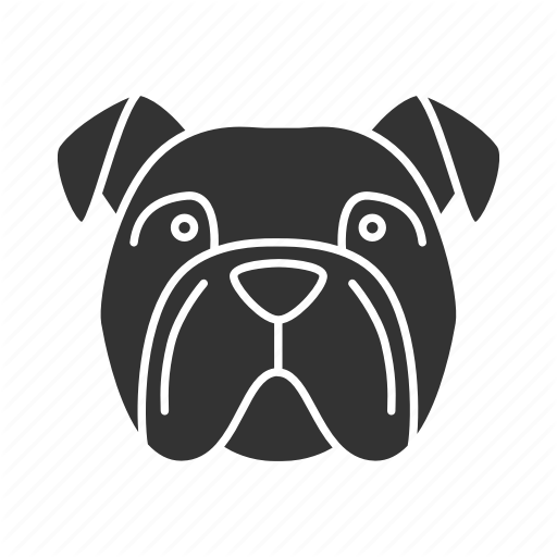 Breed, Bulldog, Dog, English, Frenchie, Pet, Puppy Icon
