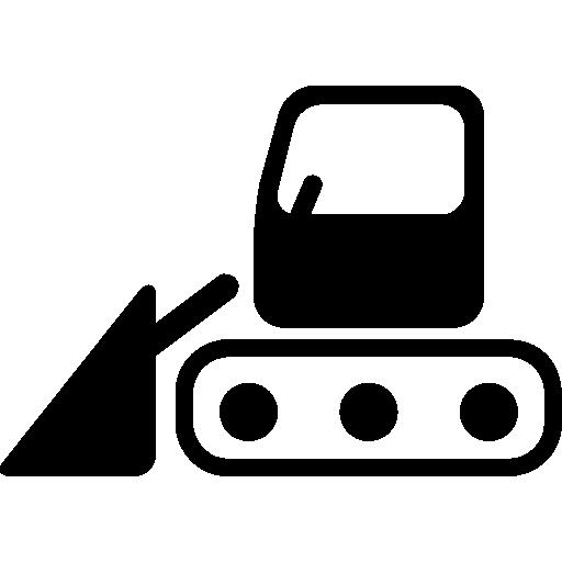 Bulldozer Side View