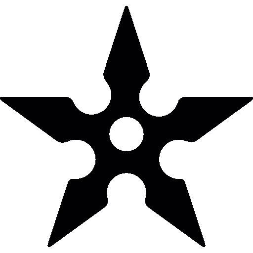 Shuriken Icons Free Download
