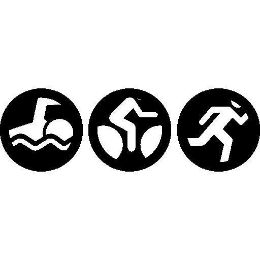 Triathlon Icons Free Download
