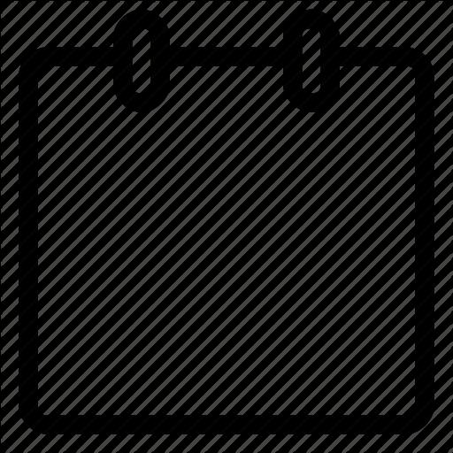 Bulletin Board, Note, Office, Post It Icon