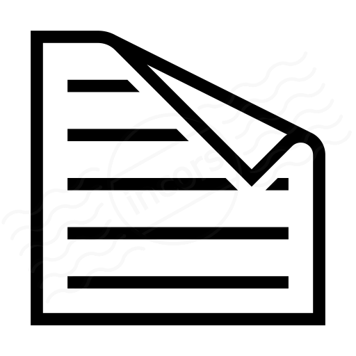Iconexperience I Collection Sticky Note Text Icon
