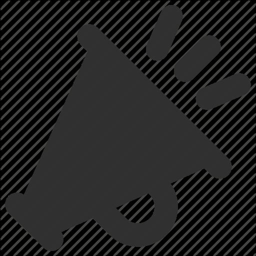Bullhorn, Marketing, Megaphone, Promote, Promotion Icon