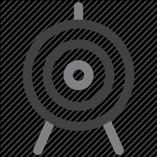 Aim, Archer, Archery, Bullseye Icon