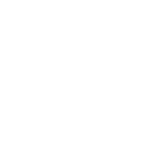 White Flying Stork With Bundle Icon