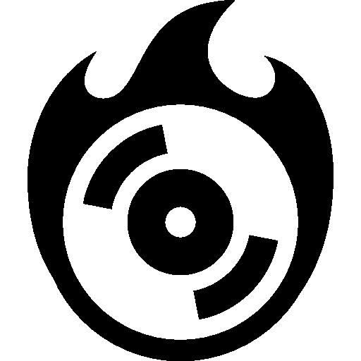 Computer Hardware Burn Cd Icon Windows Iconset