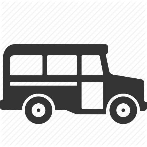 School Bus, Transport, Vehicle Icon