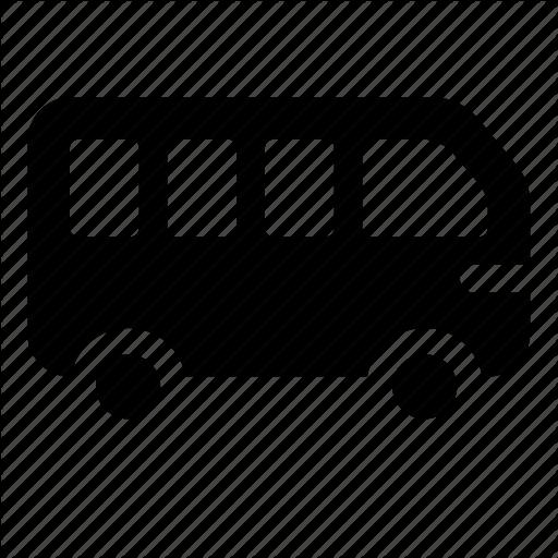 Auto, Bus, Transport, Vehicle Icon