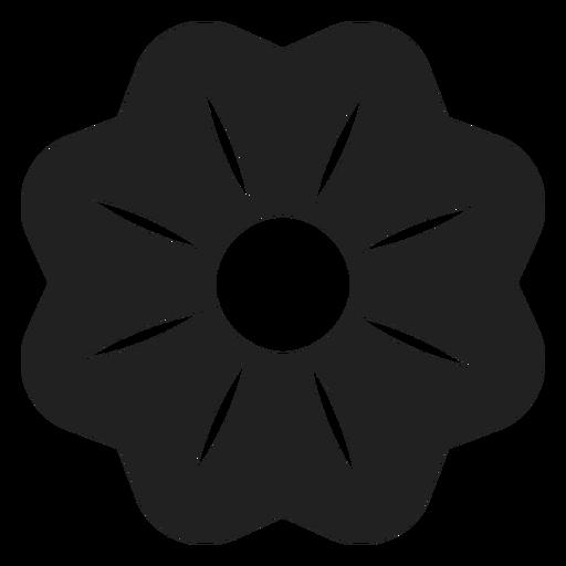 Calico Bush Flower Icon