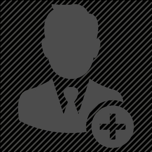 Add, Avatar, Business, Man, Person, Profile, User Icon