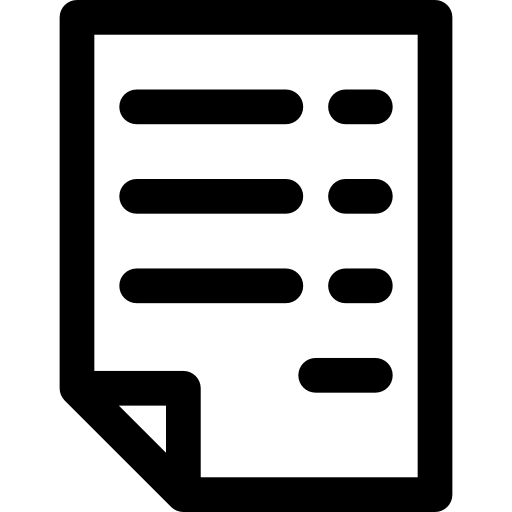 Business Archive Flat Icon