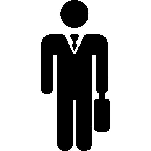 Businessman Icon Minimal Universal Theme Freepik