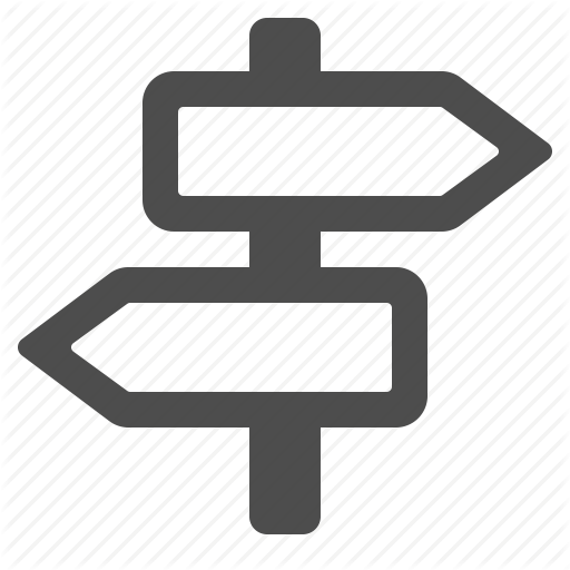Direction, Road Sign, Sign Icon