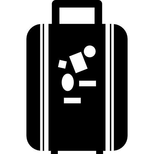 Bag For Travel Icons Free Download
