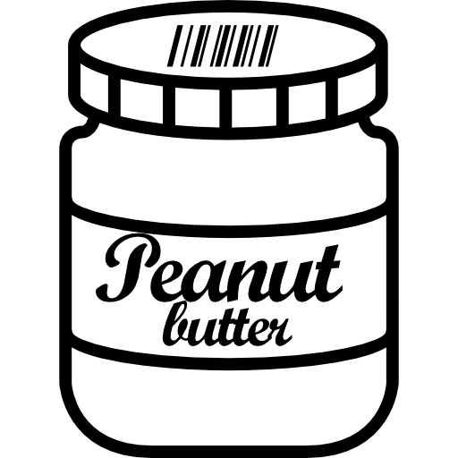 Peanut Butter Jar Icons Free Download