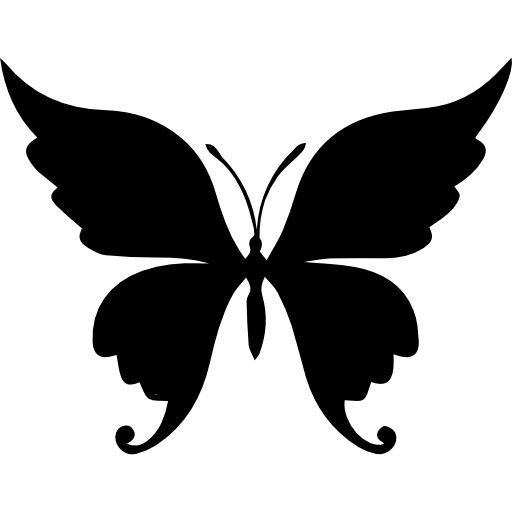 Butterfly Beautiful Shape Free Vector Icons Designed