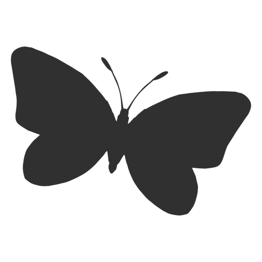 Butterfly Flying Silhouette Icon