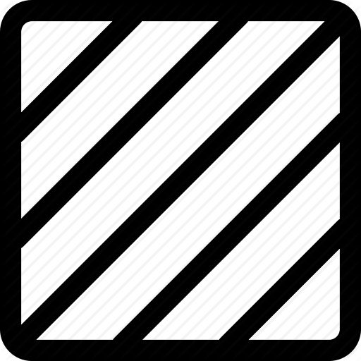 Dashed, Fill, Pattern, Rectangle, Square, Stripes Icon