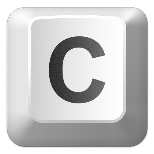Iconexperience V Collection Keyboard Key C Icon