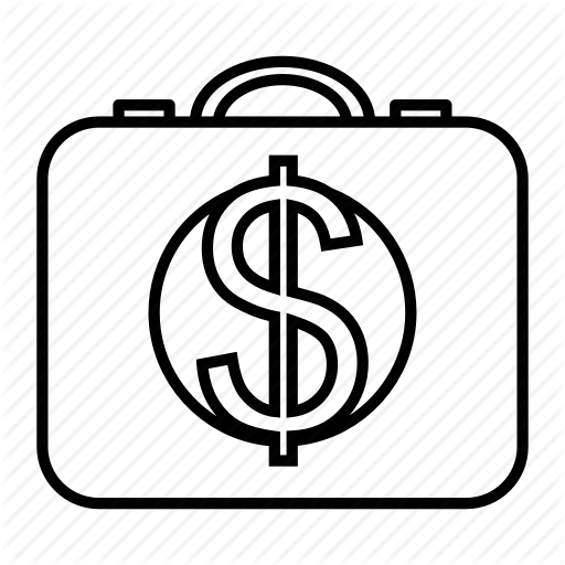 Cash, Dollar, Financial, Ransom Icon