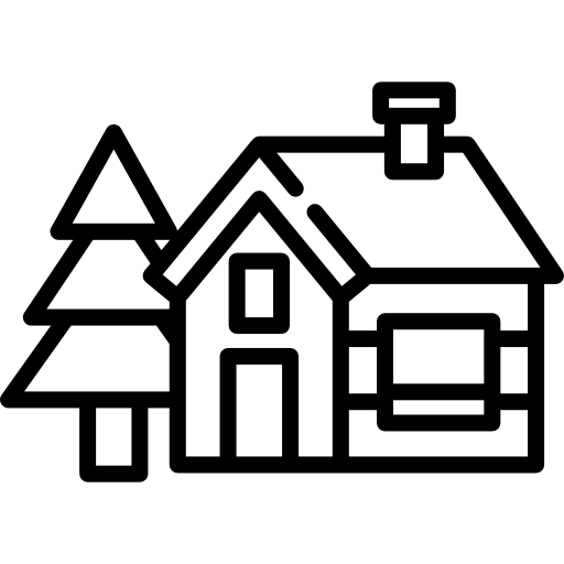 Cabin Free Vector Icons Designed