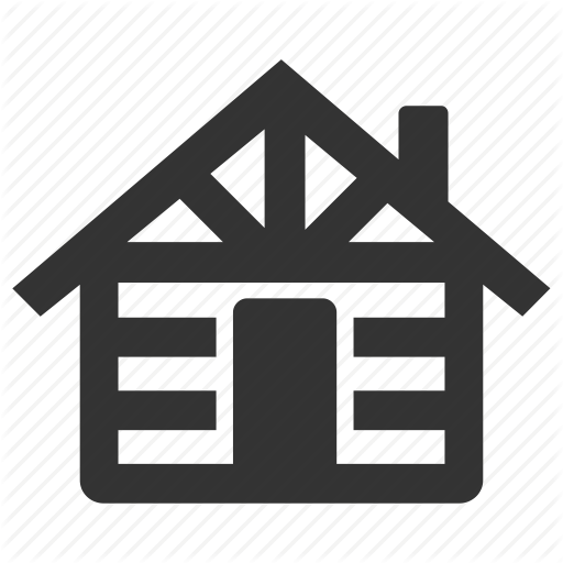 Cabin, Chalet, Cottage, Estate, Lodge, Loghome, Wood House Icon