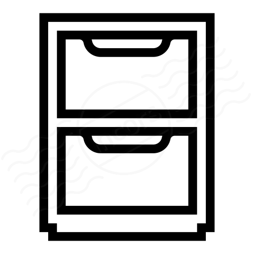 Iconexperience I Collection Cabinet Icon