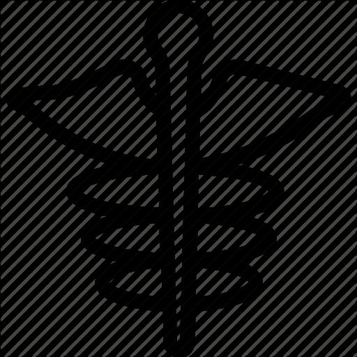 Caduceus, Medical, Medical Sign, Pharmacy Icon