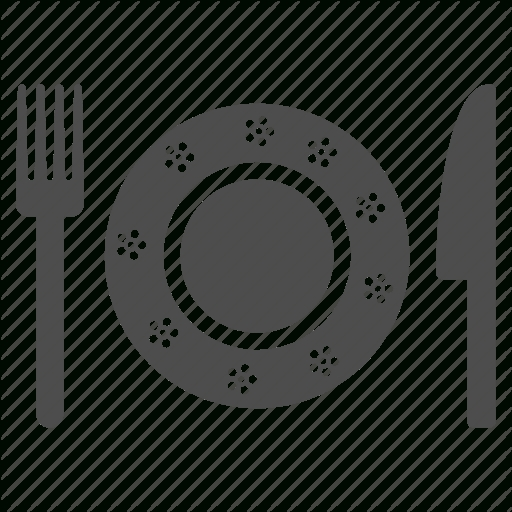 Cafe, Dinner, Food, Knife, Menu, Order, Restaurant Icon In Dinner