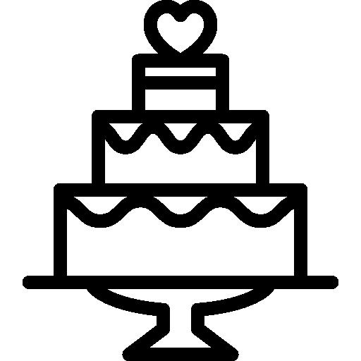 Wedding Cake Icons Free Download
