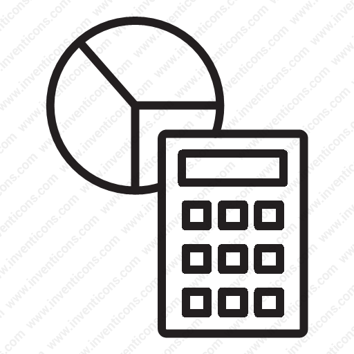 Download Statistics Calculator Icon Inventicons