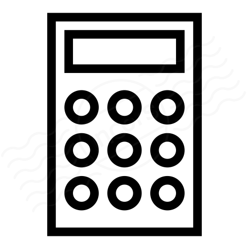 Iconexperience I Collection Calculator Icon