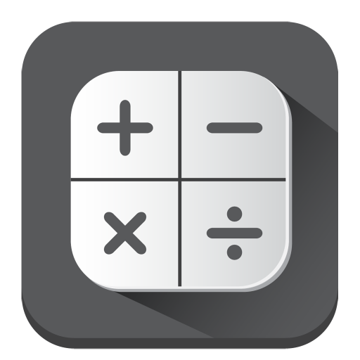 Calculator Icon Long Shadow Iconset Pelfusion