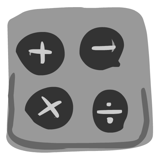 Calculator Icon Hand Drawn Iphone Iconset Fast Icon Design
