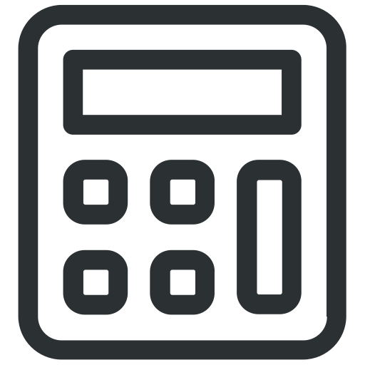 Calculator, Machine, Numbers, Office Icon Icon