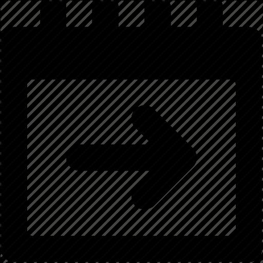 Arrow, Calendar, Event, Right Arrow, Upcoming Event Icon