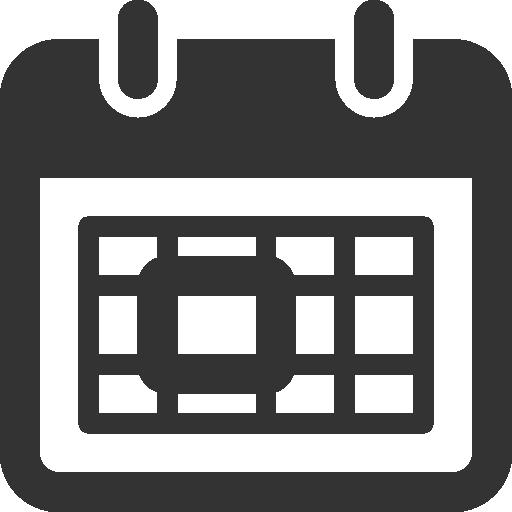 Calendar Icon Blue