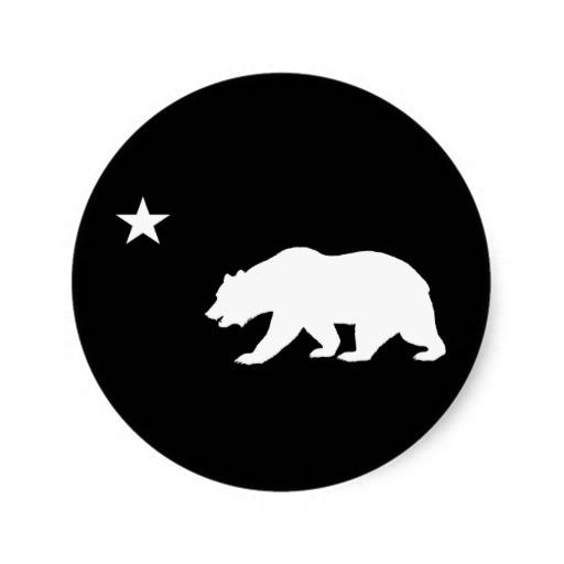 California Bear Outline